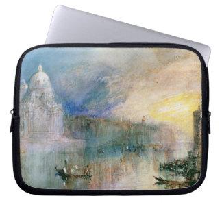 Venice: Grand Canal with Santa Maria della Salute Laptop Sleeve