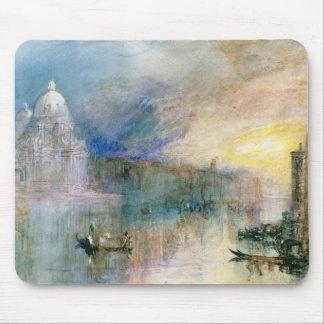 Venice: Grand Canal with Santa Maria della Salute Mouse Pad