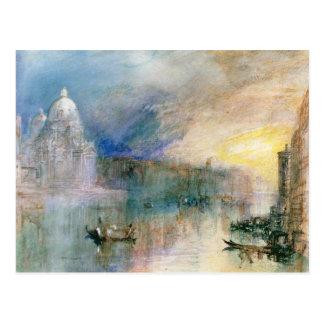Venice: Grand Canal with Santa Maria della Salute Postcard