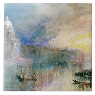 Venice: Grand Canal with Santa Maria della Salute Tile