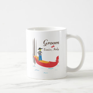 Venice Groom Coffee Mug