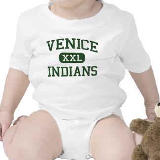 Venice - Indians - High School - Venice Florida Rompers
