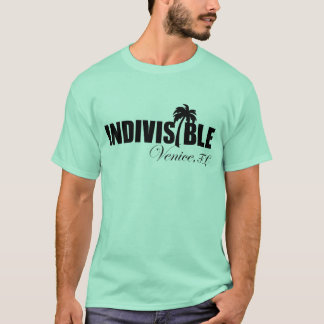 VENICE indivisible men's t-shirt blk logo
