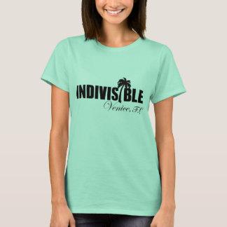 VENICE Indivisible women's t-shirt blk logo