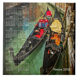 Venice, Italy 2018 calendar Tile