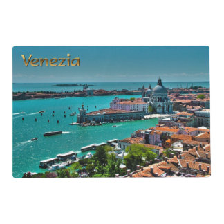Venice, Italy - Aerial View Laminated Placemat