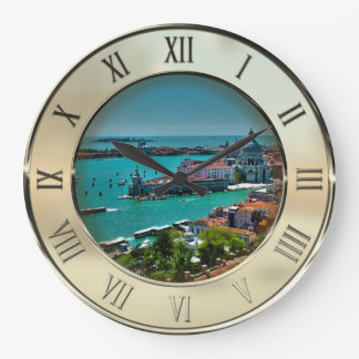 Venice, Italy - Aerial View Wall Clock