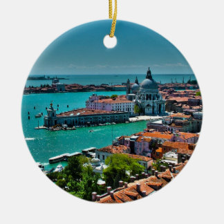 Venice, Italy - Bird's Eye View Christmas Ornament