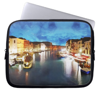 Venice_Italy_Canal_funda 10 Laptop Sleeve