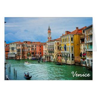 Venice, Italy Card