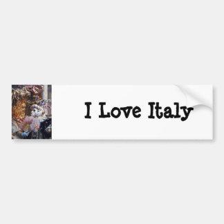 Venice Italy Carnival Mask ~ Italian Festival Bumper Stickers