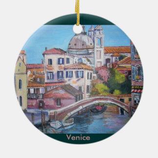 Venice, Italy - Circle Ornament