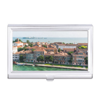 Venice Italy cruise mediterranean architecture Business Card Holder