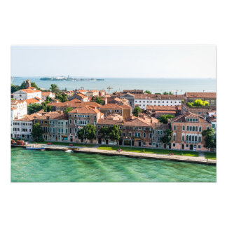 Venice Italy cruise mediterranean architecture Photo Print