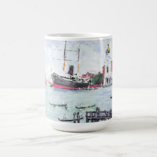 Venice Italy Excursion Pier 1901 Coffee Mug