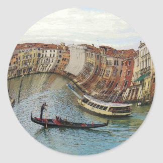 Venice Italy gifts and phone cases Round Sticker
