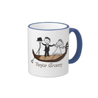 Venice Italy Groom Favors Coffee Mugs