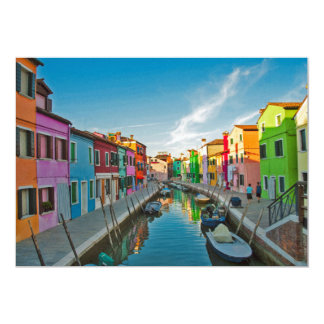 Venice, Italy 13 Cm X 18 Cm Invitation Card
