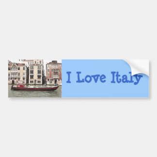 Venice Italy Photo of  Fishing Boat in Harbor Bumper Stickers