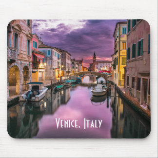 Venice, Italy Scenic Canal & Venetian Architecture Mouse Pad