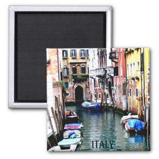 VENICE, ITALY SQUARE MAGNET