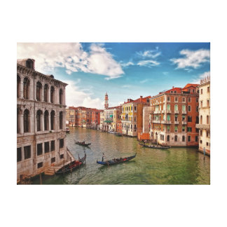Venice, Italy Stretched Canvas Print