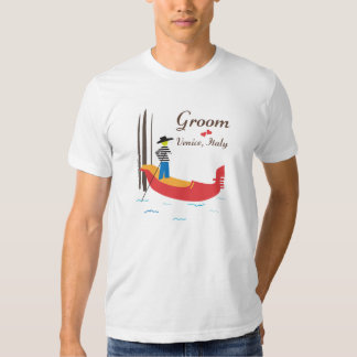 Venice Italy T-shirt for Grooms
