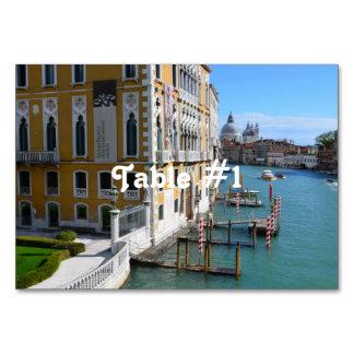 Venice Italy Table Card