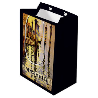 Venice Italy Vintage Travel gift bags