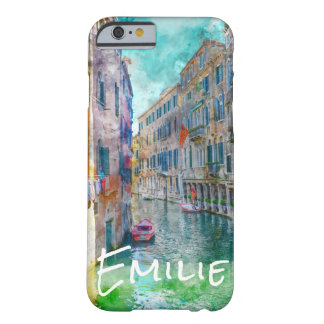 Venice Italy Watercolor Artwork Barely There iPhone 6 Case