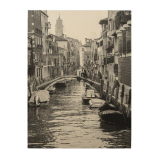 VENICE ITALY WOOD WALL ART