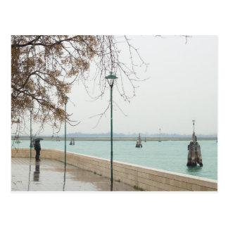 Venice laguna postcard