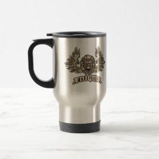 Venice Lion Heraldic Ænigma Graphic Design Stainless Steel Travel Mug