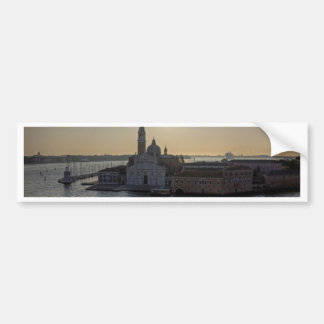 Venice morning bumper sticker