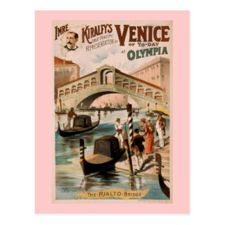 Venice of Today Vintage Theater Postcards