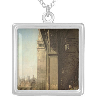 Venice: Piazza di San Marco and the Colonnade Silver Plated Necklace