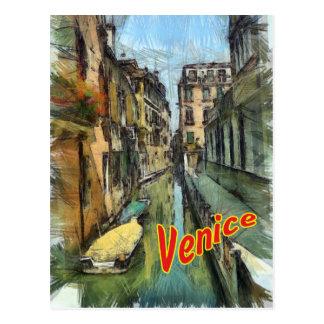 Venice Post Card