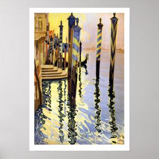 Venice Reflections Semi-gloss 16x22.83 Poster