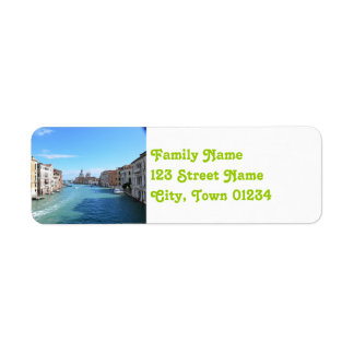 Venice Return Address Label