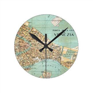 Venice Round Clock