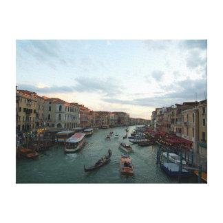 Venice s Grand Canal Canvas Prints