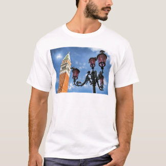 Venice San Marco Tower and Street Lights T-Shirt