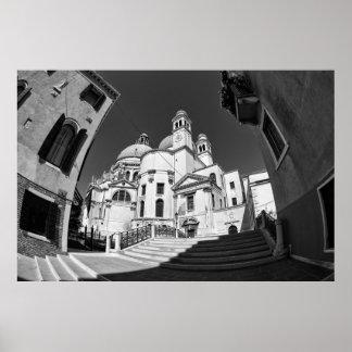 Venice - Santa Maria Della Salute Basilica  Poster