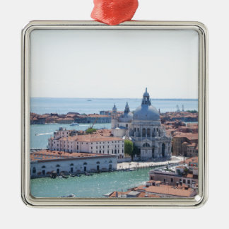 Venice Silver-Colored Square Decoration