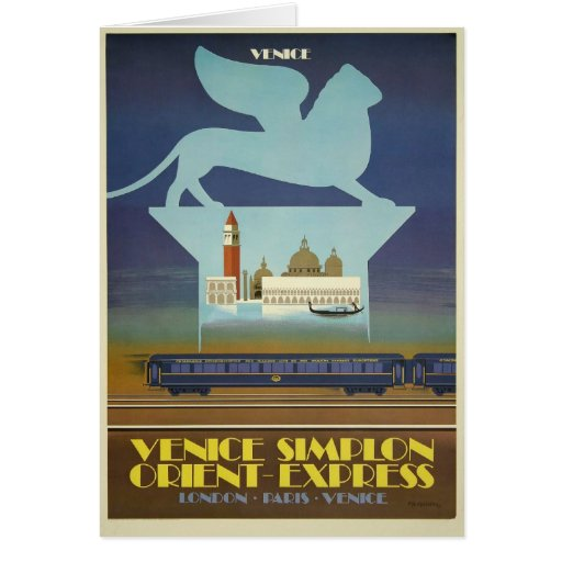 Venice Simplon (Orient Express) Cards