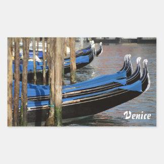 Venice Rectangle Stickers