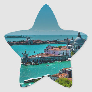 Venice Star Sticker