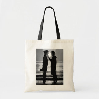 VENICE SUNSET AT LIDO BEACH TOTE BAG