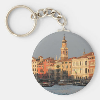 Venice Sunset at the Rialtro Bridge Key Ring