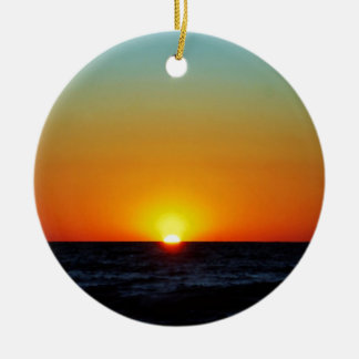 Venice Sunset Christmas Ornament